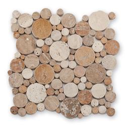Bärwolf CM-10001 mozaika marmurowa 30,5 x 30,5 cm