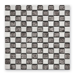 Bärwolf GL-10026 mozaika szklana / metalowa 29,8 x 29,8 cm