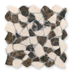 Bärwolf RM-0006 mozaika z marmuru łamanego 30 x 30 cm