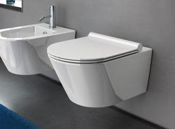 Catalano Zero NF 55 - miska WC podwieszana bezkołnierzowa 55 cm z deską wolnoopadająca