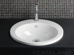 Catalano ZeroLight Incasso 57 - umywalka wpuszczana 57 x 47 cm