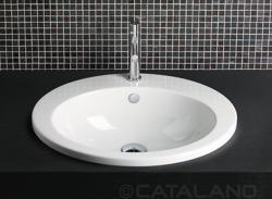 Catalano ZeroLight Incasso 61 - umywalka wpuszczana 61 x 51 cm