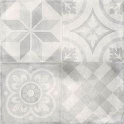 Cifre Reaction White Decor 75 x 75 cm - płytka gresowa