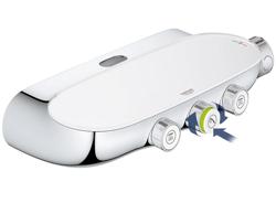 Grohe Rainshower SmartControl 360 DUO - system natryskowy z baterią termostatyczną