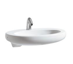 Laufen Alessi One  - umywalka półblatowa 75 x 50 cm bez otworu