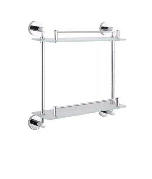 Stella Classic półka podwójna szkło matowe