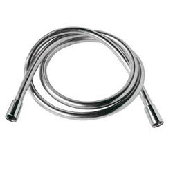 Tres Loft - bateria prysznicowa ścienna + słuchawka z wężem